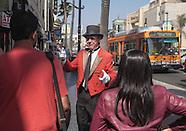 Former Beverly Hills greeter Gregg Donovan works in Hollywood