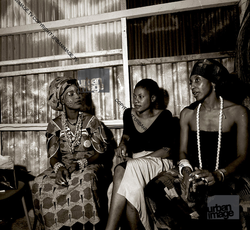 Fela Kuti Wives at the Shrine - Lagos