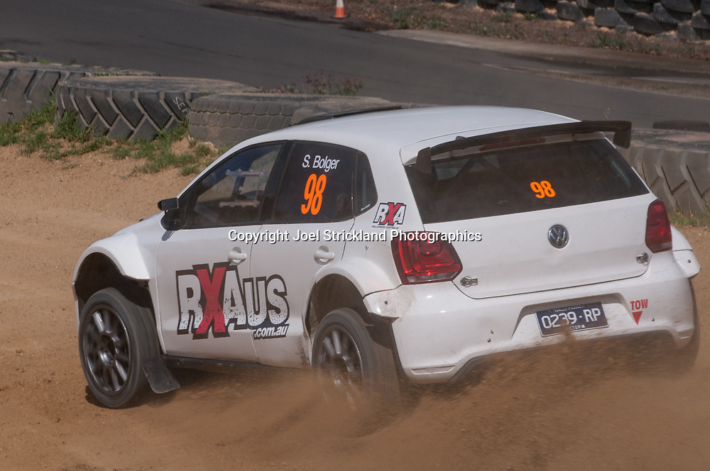 Sean Bolger - VW Polo - Rallycross Australia - Rnd 1 - February 26th 2017. MARULAN DIRT & TAR CIRCUITS, MARULAN, NSW