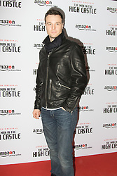 Curzon Bloomsbury, London, December 14th 2016. Celebrities attend the launch of Amazon Prime's European premiere for Season 2 of The Man In The High Castle. PICTURED: Rupert Evans