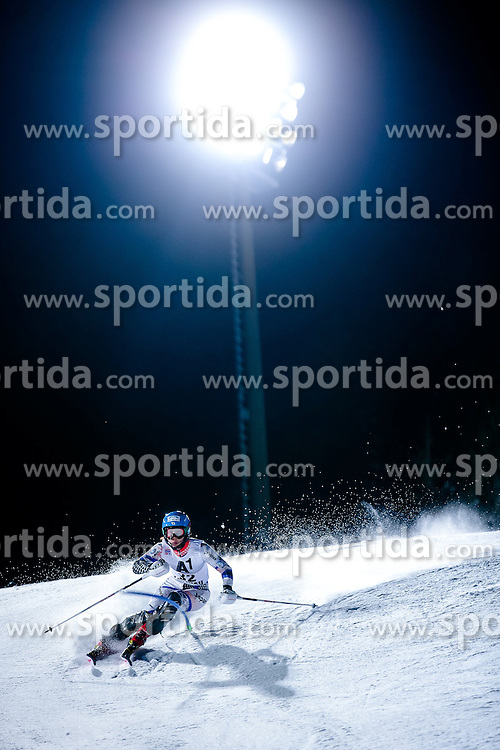 13.01.2015, Hermann Maier Weltcupstrecke, Flachau, AUT, FIS Weltcup Ski Alpin, Flachau, Slalom, Damen, 1. Lauf, im Bild Emi Hasegawa (JPN) // Emi Hasegawa of Japan in action during 1st run of the ladie's Slalom of the FIS Ski Alpine World Cup at the Hermann Maier Weltcupstrecke in Flachau, Austria on 2015/01/13. EXPA Pictures © 2015, PhotoCredit: EXPA/ Johann Groder