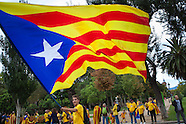 Spain - Independence Day in Catalonia