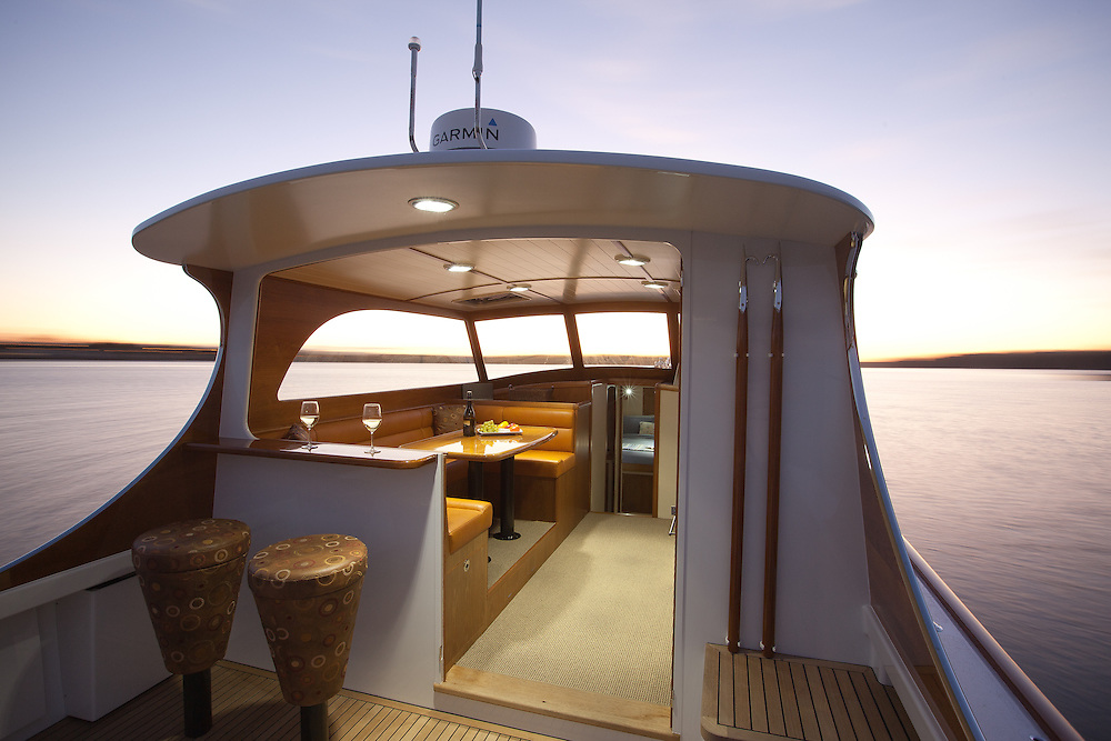 CLIENT: Salthouse Boatbuilders<br /> DESCRIPTION: Interior photography of new boat