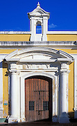Entrance to Chapel at San Cristóbal fort; San Juan Natl Historic Site, Puerto Rico..