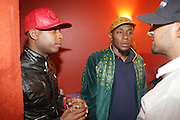 l to r: Talib Kweli (Black Star) Mos Def( Black Star) at The Black Star( Mos Def & Talib Kweli) Performance presented by BlackSmith and Live N Direct held at The Nokia Theater in New York City on May 30, 2009
