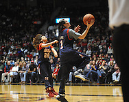 """Fans participate in an event at Ole Miss vs. Auburn at the C.M. """"Tad"""" Smith Coliseum on Saturday, February 23, 2013.  (AP Photo/Oxford Eagle, Bruce Newman)"""