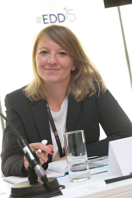 03 June 2015 - Belgium - Brussels - European Development Days - EDD - Health - Pills , pricing and profitability - Anja Kopyra , Desk Officer , Federal Ministry for Economic Cooperation and Development , Germany (BMZ) © European Union
