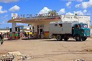 Gas station in Pinar del Rio, Cuba.