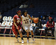 "Ole Miss' Whitney Hameth (30) vs. Arkansas at the C.M. ""Tad"" Smith Coliseum in Oxford, Miss. on Thursday, January 12, 2012."