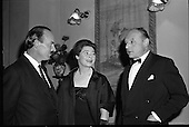 """1961 - Siobhán McKenna Attends """"Don Giovanni"""" In Olympia."""