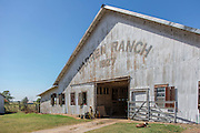 Warren Ranch barn on the Katy Prairie Conservancy in Katy, Texas.