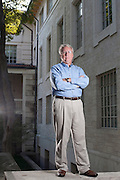 Michael Cunningham is the Director of the University Data Center for the University of Texas at Austin. He has twenty years of experience in the industry, previously working for IBM and Dell on a global scale. Cunningham directs the Univeristy's disaster recovery plan that focuses on the the end results of a disaster instead of their initial causes. ..Michael Cunningham poses for a portrait on the South Mall of the University of Texas campus in Austin, Texas on Thursday September 20, 2012.