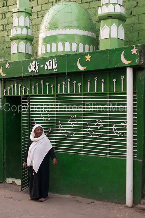 Muslim shrine on the corner of St. Paul's Mawatha and Brass Founder Street. Colombo 13.