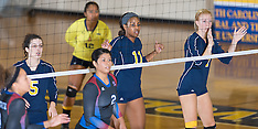 2015 A&T Volleyball vs SC State University