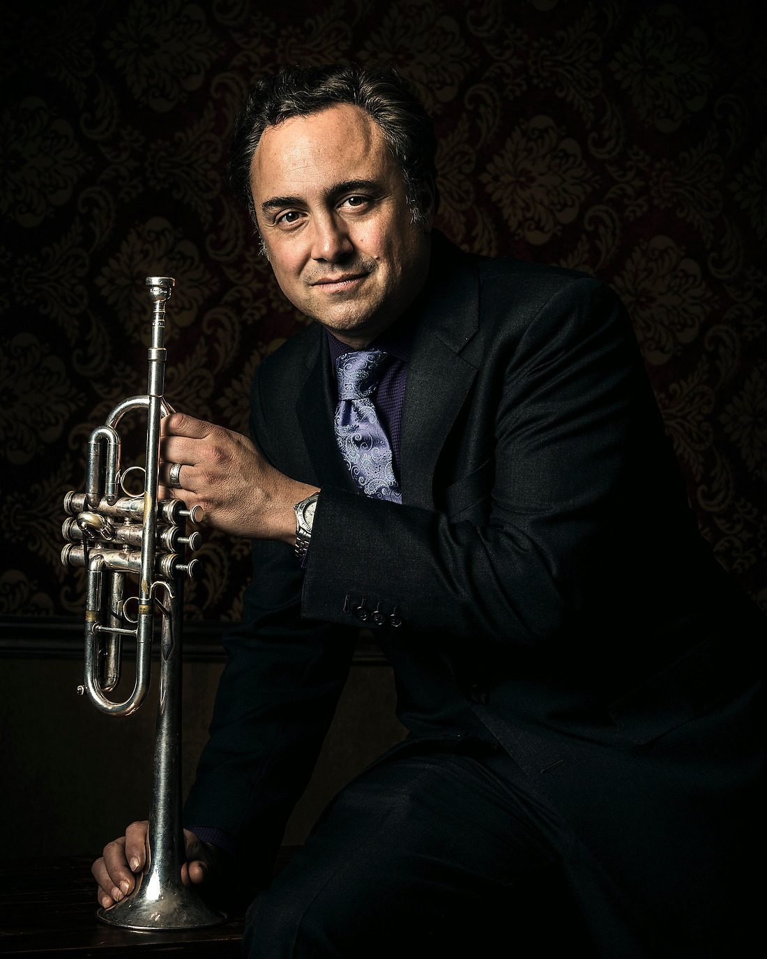 Anthony DiLorenzo National Trumpet Freelancer and Composer. — © Jeremy Lock/