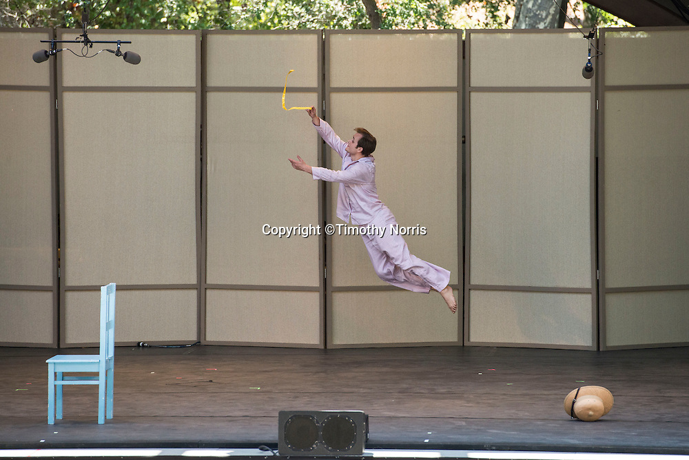 "Dallas McMurray dances ""Ten Suggestions"" at Libbey Bowl on June 9, 2013 in Ojai, California."