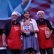 Cardinal Health RBC 2016. Closing Session Deep Dish Dollars contest. $1000 winner Rebecca Gingham (Carter's Drug). Photo by Alabastro Photography.