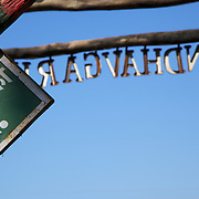 Sign at entrance of Bandhavgarh National Park, India