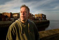 Hull, St Andrews Dock, July 15, 2013. Hull Pictured: Author Nick Quantrill