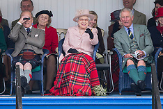 SEP 07 2013 The Royal Family attend the Braemar Games