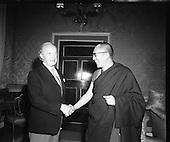 1973 - The Dalai Lama Visits Aras An Uachtarain.  (F77).
