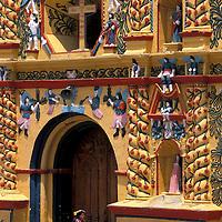 Iglesia San Andres Xecul, Guatemala, Central America