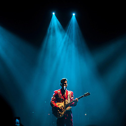London, UK - 9 October 2012: Chris Isaak performs live at HMV Hammersmith Apollo as part of his 'Beyond the sun' tour