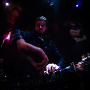 10/23/11 Philadelphia PA: DJ Wyatt Bourgeault during TEASE exhibition Sunday, Oct. 23, 2011 at National Mechanics in Philadelphia Pennsylvania...Monsterphoto/SAQUAN STIMPSON