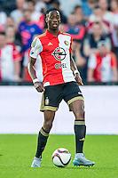 ROTTERDAM - Feyenoord - Olympiakos FC, Voetbal , Seizoen 2015/2016 , oefenwedstrijd , Stadion de Kuip , 01-07-2015 , Speler van Feyenoord Terence Kongolo