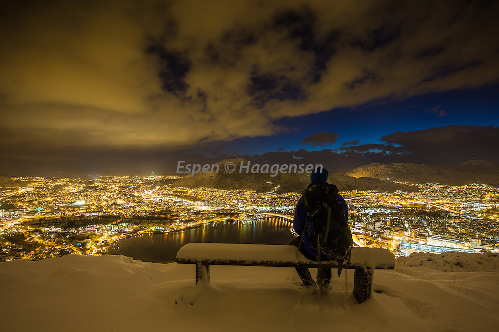 The first snow in Bergen.<br /> The image that made me famous.