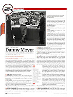 """Danny Meyer: What I've Learned"", Esquire Magazine, November 2006"