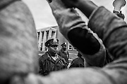 WASHINGTON, USA - APRIL 22: Hundreds of people march through the streets of Baltimore to seek justice for the death for Freddie Gray who died from injuries suffered in Police custody in Baltimore, USA on April 22, 2015.