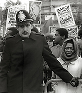 PROTESTS UK 1970s '80s