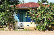House in San Antonio de Rio Blanco, Mayabeque, Cuba.