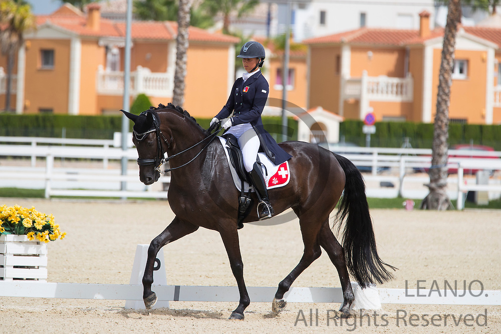 Estelle Wettstein - West Side Story<br /> European Championships Dressage 2016<br /> &copy; DigiShots