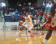"Ole Miss' Jarvis Summers (32) vs. Rutgers at the C.M. ""Tad"" Smith Coliseum in Oxford, Miss. on Saturday, December 1, 2012. (AP Photo/Oxford Eagle, Bruce Newman).."