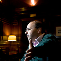 Ali Ansari, Professor of Iranian History at St Andrew's University, Scotland. Photographed in the Grosvenor Hotel, London. UK.