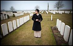 APR 10 2013 Sayeeda Warsi Visits the Battlefields on the First World War