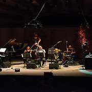 Pianaist Uri Caine and the Uri Caine Ensemble perform Mahler Reimagined at the 68th Ojai Music Festival at Libbey Bowl on June 12, 2014 in Ojai, California.