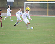 Oxford High vs. Horn Lake in boys high school soccer action in Oxford, Miss on Saturday, January 12, 2013. Oxford won.