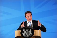 Cameron  during Speech