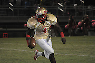 Lafayette High's Brandon Mack (4) vs. Lewisburg on Friday, September 28, 2012.