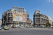 Agricola and Adriatica buildings, Bucharest. Served as headquarters for two insurance companies, Adriatica and Agricola Fonciera. Architect: Petre Antonescu Built: 1928-1930