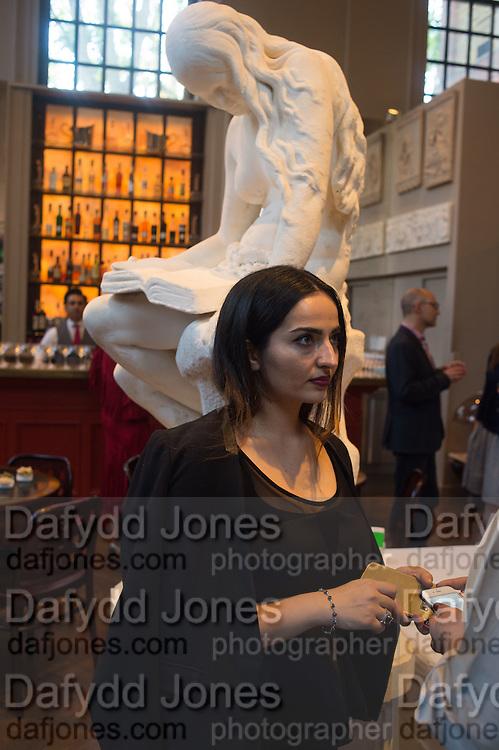 EMELIA, Charles Finch, Efe Cakarel & Hikari Yokoyama celebrate  Mubi with Doug Aitken.  Maison Assouline. Piccadilly. London. 25 June 2015
