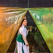 Preparativi in vista della  notte di São João, una delle cerimonie più importanti dell'anno per il Santo Daime The night of São João. One of the most important ceremonies for Santo Daime's believers /