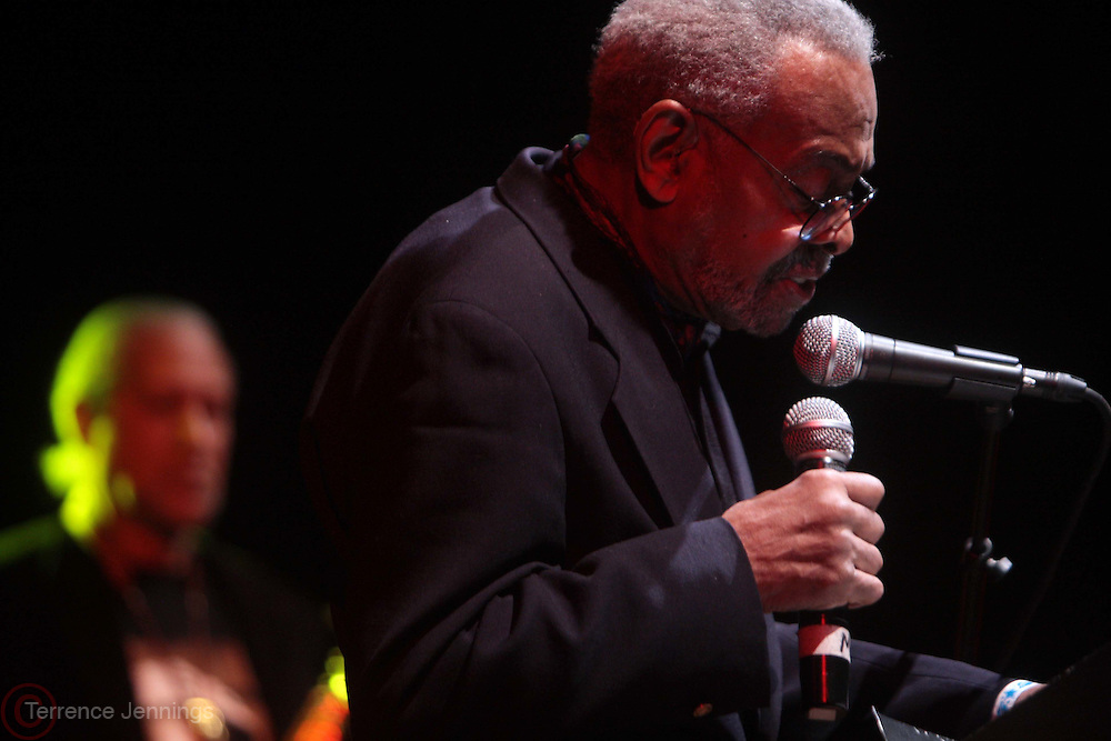 25 March 2011- New York, NY-  l to r: Amiri Baraka and Gary Bartz perform at The Annual National Black Writers Benefit Concert Produced by Jill Newman Productions held at Highline Ballroom on March 25, 2011 in New York City. Photo Credit: Terrence Jennings