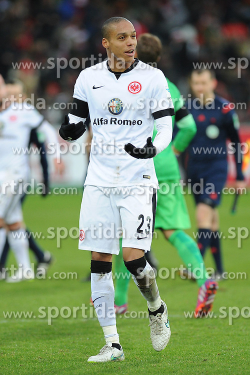 31.01.2015, Schwarzwald Stadion, Freiburg, GER, 1. FBL, SC Freiburg vs Eintracht Frankfurt, 18. Runde, im Bild Bamba Anderson (Eintracht Frankfurt) // during the German Bundesliga 18th round match between SC Freiburg and Eintracht Frankfurt at the Schwarzwald Stadion in Freiburg, Germany on 2015/01/31. EXPA Pictures &copy; 2015, PhotoCredit: EXPA/ Eibner-Pressefoto/ Laegler<br /> <br /> *****ATTENTION - OUT of GER*****