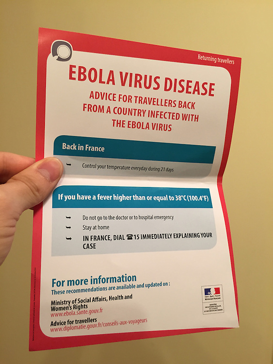 French Ebola info card