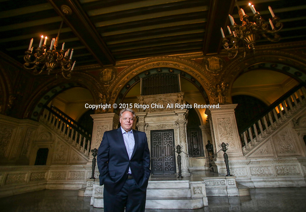 Michael Fischer of Georgetown Company at the Herald examiner building.