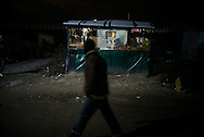 A little shop in the camp, many activities have grow in the camp, Calais, France. FEDERICO SCOPPA/CAPTA